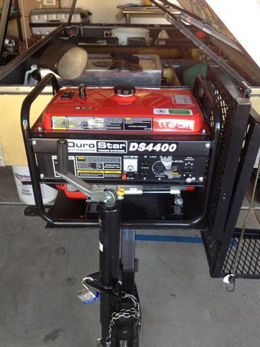 New 4400 Watt Generator Gets It Done