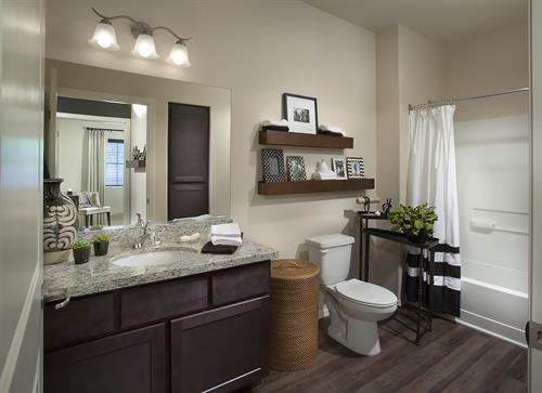 Bathroom in One Bedroom