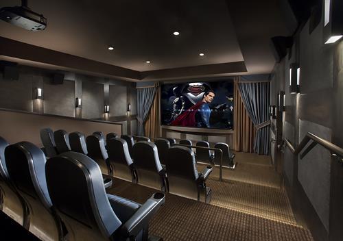 30 Person Private Movie Theatre