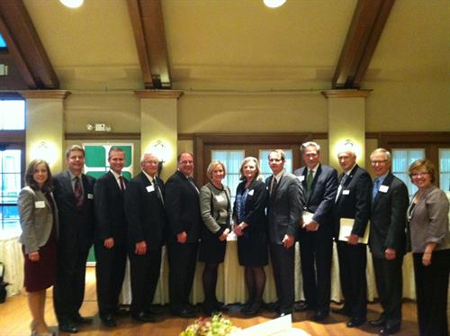 The first CEO Roundtable event featured Kathy Tunheim as our keynote speaker and four distinguished CEO's in Edina