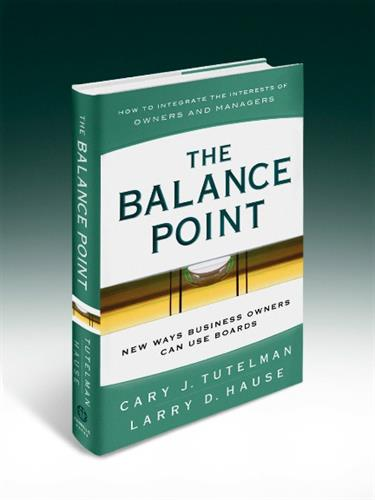 The Balance Point by Larry Hause and Cary Tutelman