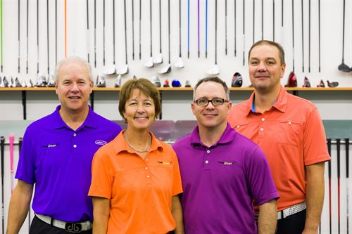 Your Totally Driven Team: Andy, Lynn, Jason & Jon