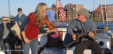 Thursday Night Music Cruise on the Gundalow by Ralph Morang
