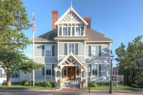 The exterior view of our Portsmouth boutique hotel.