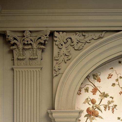 Detail, Governor John Langdon House
