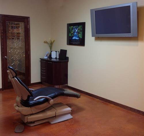 New Patient Treatment Room
