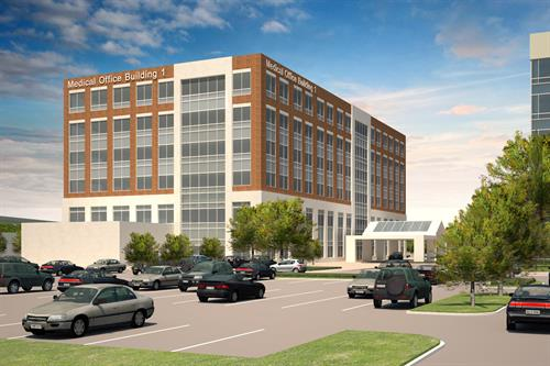 Houston Methodist The Woodlands Medical Office Building 1 - Opening 2016
