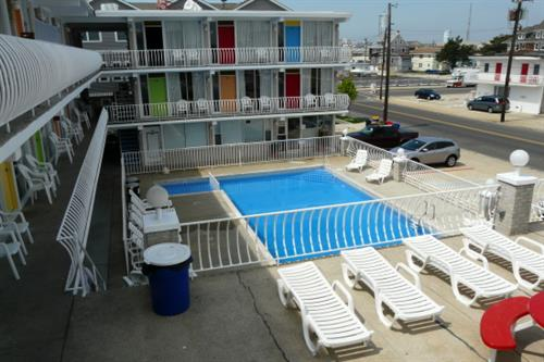 View of Pool from sundeck