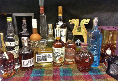 Just some of the many Spirits we carry