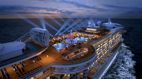 Cruising allows you to unpack once and see multiple destinations while enjoying tons of great amenities.