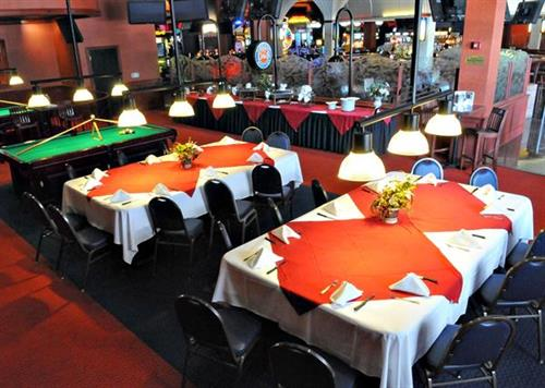 Billiards set for an exclusive event