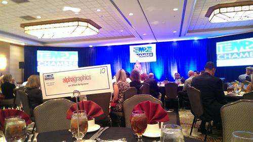 We love to sponsor Tempe Chamber Events