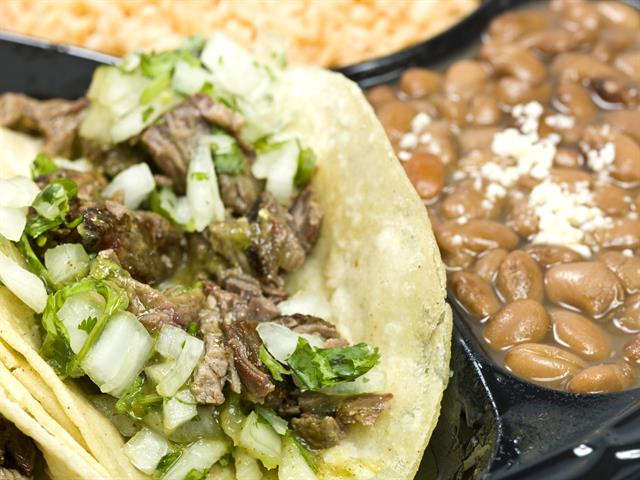 """""""Street Style"""" Tacos and Beans"""