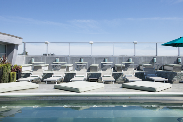 The Skydeck pool