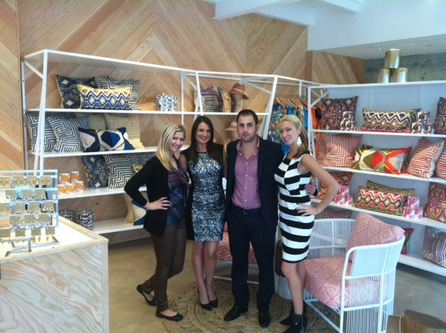 Manhattan beach Team (from left to right): Stephanie, Jessie (Store Manager), Elie, Kellie (Asst. Manager)