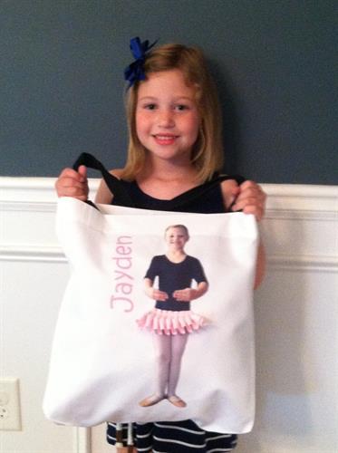 It's Me ballet bag front