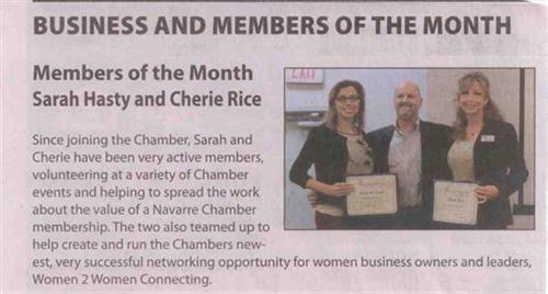 Chamber Member of the Month
