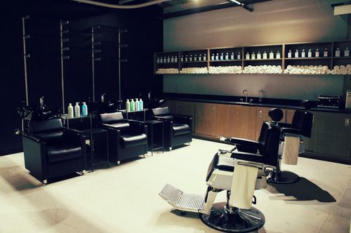 Shampoo and Shave area