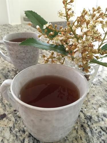 HUZNE GREEN TEA, TEA in cups