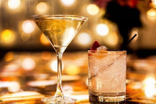Cardamom Martini & Buddha Bliss