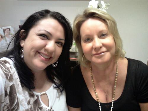 Cinthya Castro & Lori Stapp