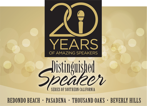 Distinguished Speaker Series launches Westside Series at the SABAN Theatre in Beverly HIlls