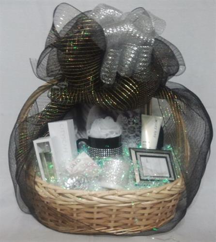 Custom Baskets professionally presented!