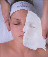 Environ 14 Layer Facial.  Our advanced treatment consists of layers of hydrating Serums, specialty peels, and antioxidant mask that covers your face, eyes and lips to leave you with glowing lifted skin.