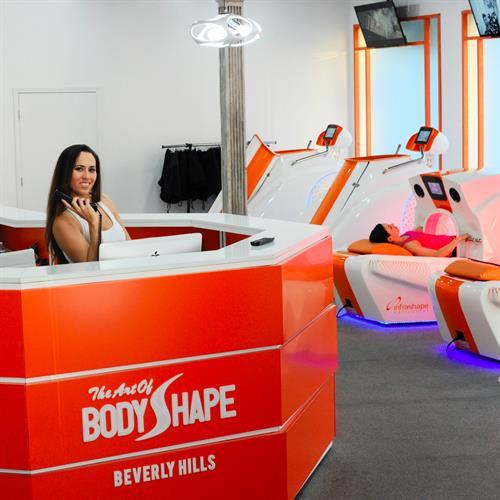 State-Of-Art designed fitness studio