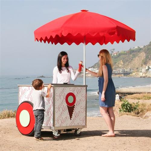 Sprinkles Ice Cream Cart- Great for Parties!