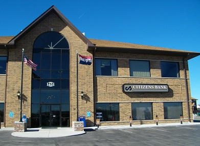 Citizens Bank welcomes you!  Stop by and let us help you with all of your financial needs!