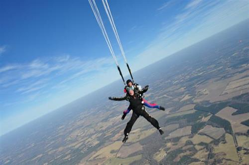 Skydiving in SC