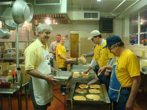 Pancake Breakfast with Valdese Rotary