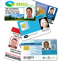 Smart Cards, Prox Cards, Bar Coded Cards and Simple IDs