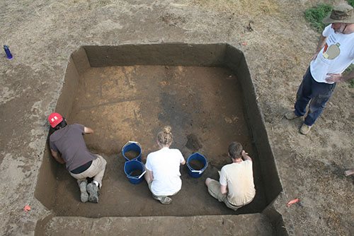 Archaeology at the Berry site