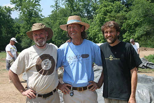 Rob, Chris, and Dave; the archaeologists