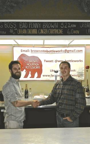 We are proud to have Brown Mountain Bottleworks as our first member of MyTownUSA!