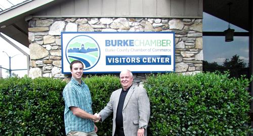 We are very proud and excited to officially be partnered up with the Burke County Chamber of Commerce!