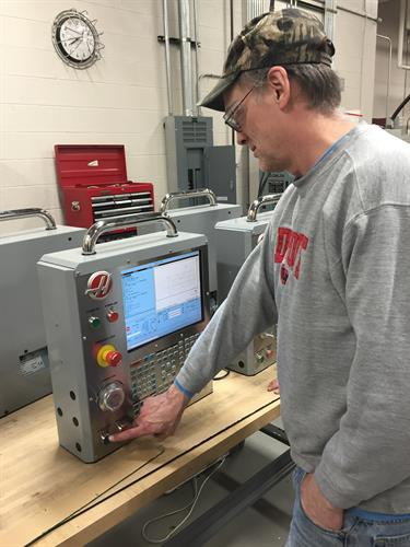 Students get hands on learning with the newest technology in the industry.