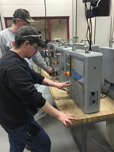 When students are finished with the CNC Certificate program they will have learned manual mill and lathe, and have the knowledge of running CNC machines and creating G-Code to be able to debug the system for errors.