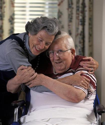 Helping Alzheimer's Caregivers.