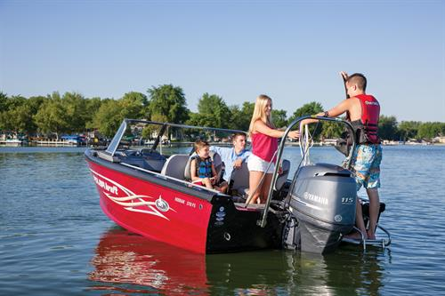 Looking for a fishing boat? How about a Polar Kraft