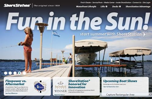 Shoretataion Dock and Hoist Sales
