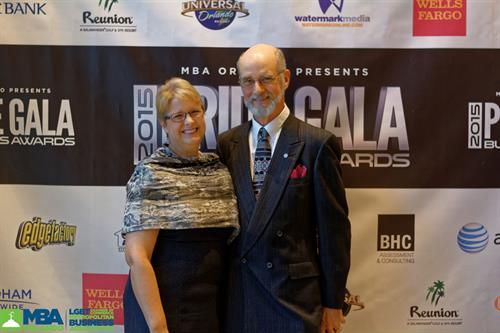 Rich and Toni at the Pride Gala August 22, 2015
