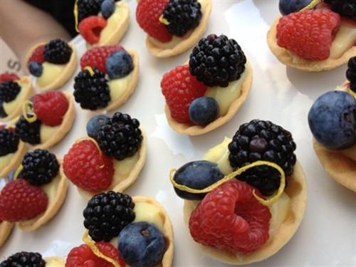 Our yummy berry tarts
