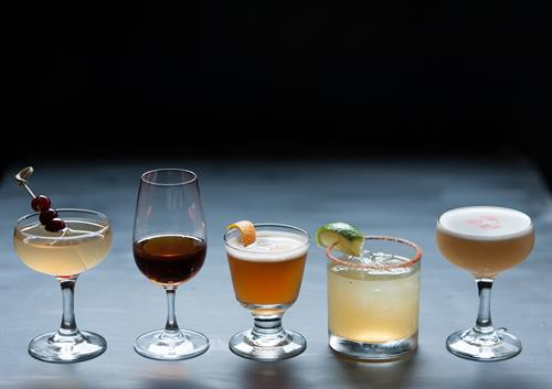 Featuring craft cocktails using apple-based spirits and the PNW's largest calvados selection