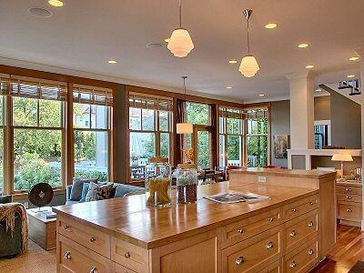 Gorgeous remodeled kitchen in Seattle home