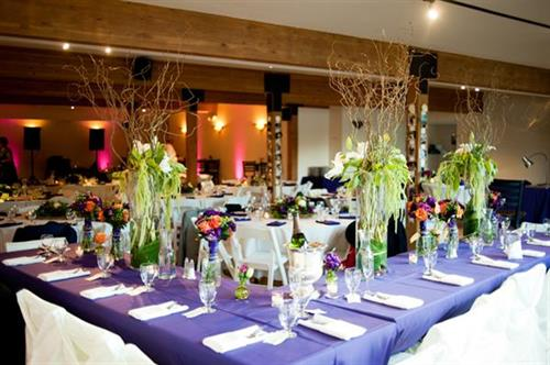 Wedding Reception at Western Riviera Lakeside Event Venue
