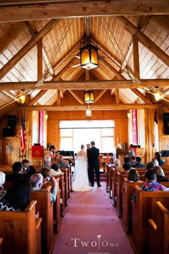 Wedding at Trinity Church of the Pines