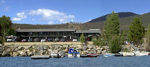 Western Riviera Lakeside Motel from Grand Lake